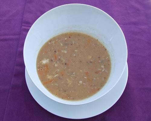 İskorpit çorbası Çanakkale yemekleri