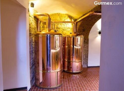 Husinec Restaurant, Prag Krusovice biraları, dark beer