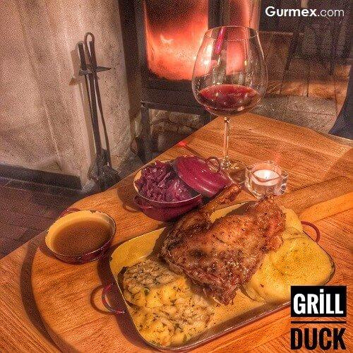 Husinec Restaurant, Prag'ta ördek ve kaz nerede yenir