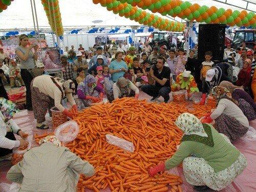 Yemek festivalleri, Beypazarı havuç festivali Ankara
