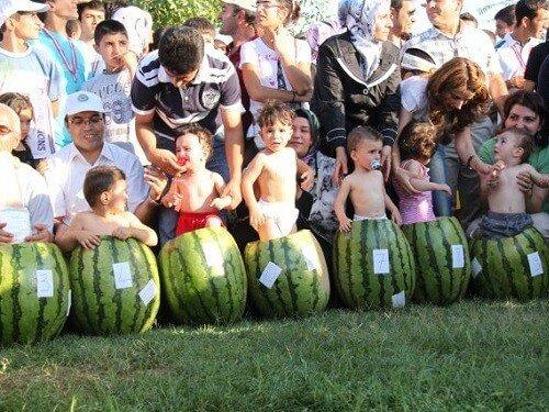 Diyarbakır Karpuz Festivali Yemek festivalleri