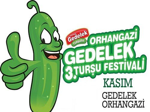Gedelek Turşu Festivali Yemek festivalleri