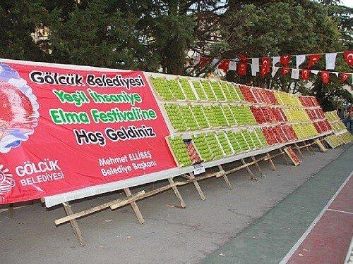 Yeşil İhsaniye Elma Festivali Yemek festivalleri
