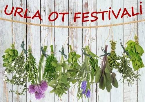 Urla Ot Festivali Mart dokuzu Yemek festivalleri