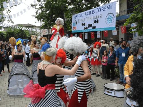 Tekirdağ Kiraz Festivali Yemek festivalleri