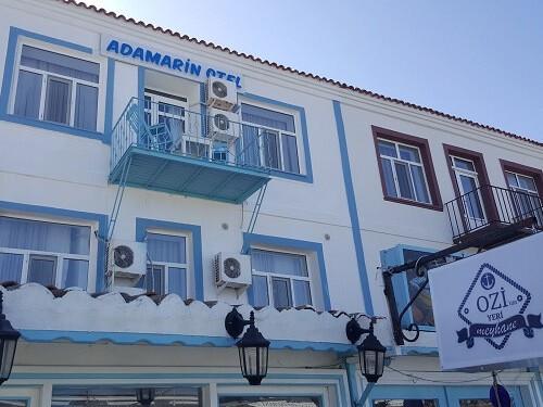 Adamarin otel Bozcaada kalacak yerler