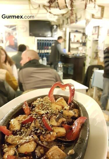kalamar kavurma Boruzan Restaurant