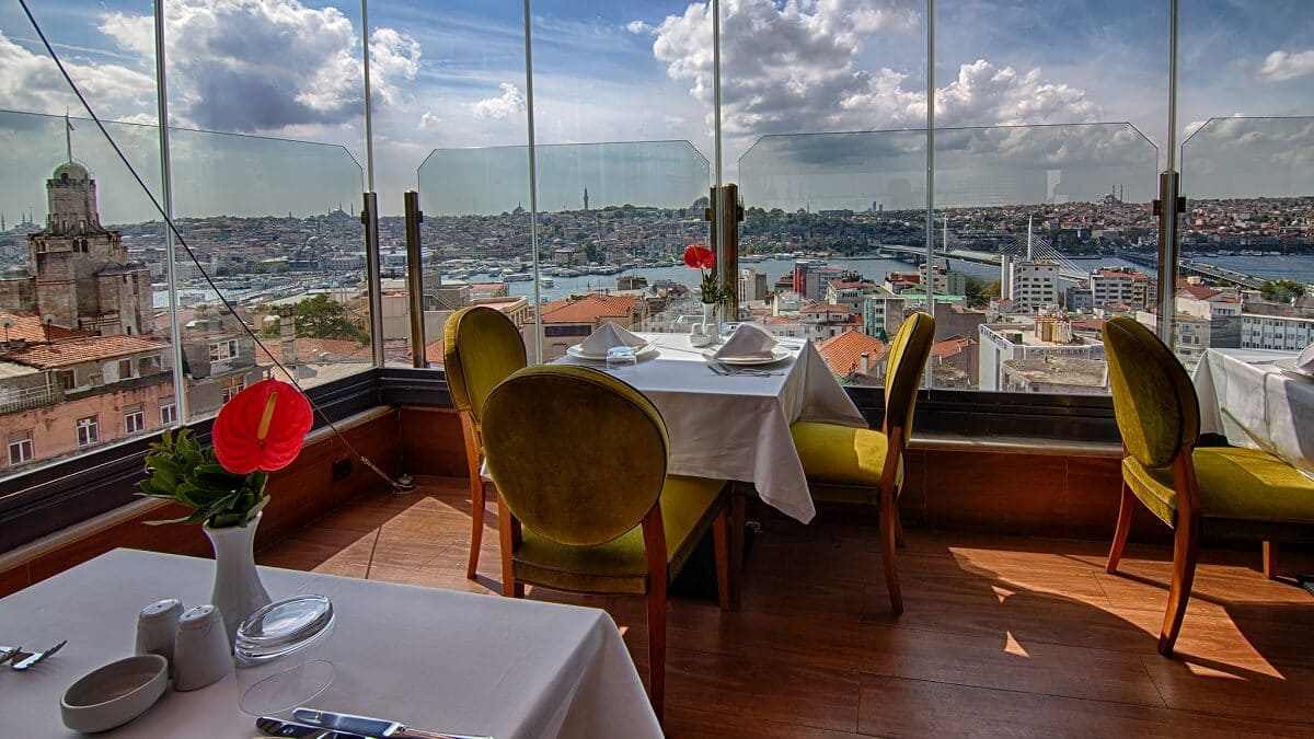 Restaurant Menu Istanbul