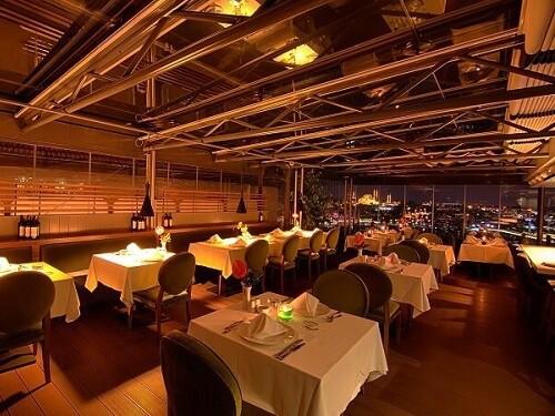 İstanbul iftar mekanları, Firuzende Restaurant Galata