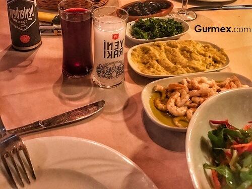 Mudanya gezilecek yerler, Burgaz Güzelyalı'da rakı balık nerede yapılır, beyaz kayalar retaurant