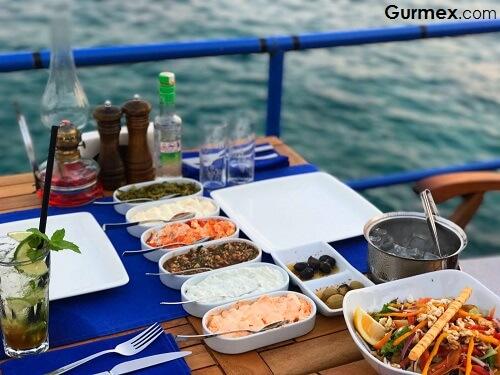 Kaş'ta Ne Yenir,kaş rakı balık elit restaurant beach