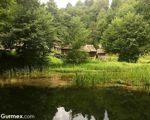 Bosna Hersek'te ne yenir,plivsko jezero gölü jajce