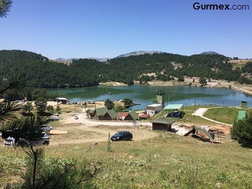 Bursa'da gezilecek doğal yerler,Ericek Göleti Gürsu