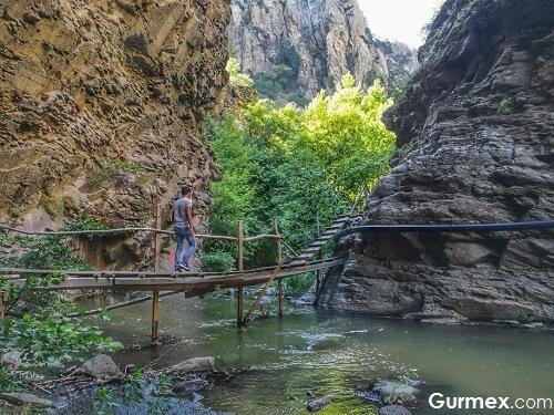 Bursa'da Sadağı Kanyonu Orhaneli,İstanbul'a yakın hafta sonu gezilecek yerler