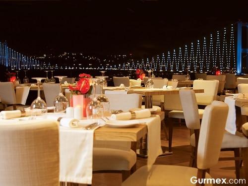 Sevgililer Günü gidilecek yerler, Bridge Restaurant