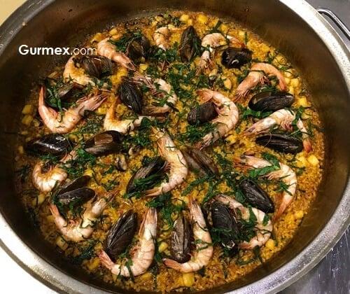 Paella pilavı tarifi İspanyol şeften