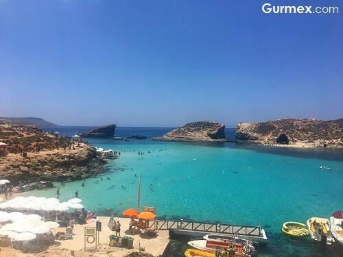 Gozo adası azur window hakkında bilgi Malta Yeme İçme