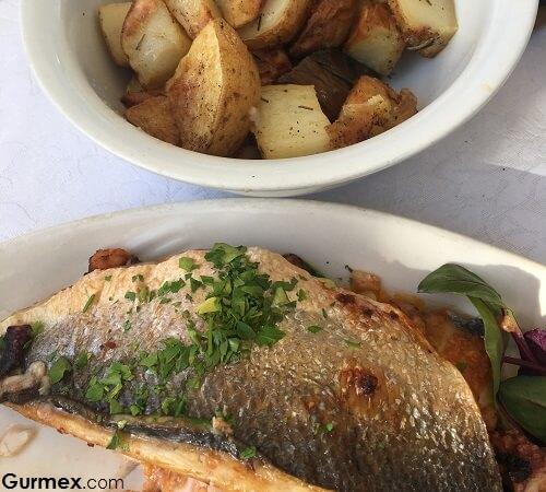 Maltada deniz ürünleri nerede yenir Pisces Restaurant Malta Yeme İçme
