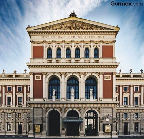 Musikverein Wien Viyana gurme flarmoni orkestrası