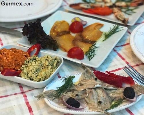 Bozcaada'da Balık nerede yenir Cabalı Meyhane