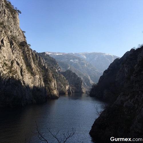 Üsküp'te gezilecek doğal yerler matka kanyonu
