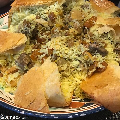 Azeri pilavı Zeferan Restaurant