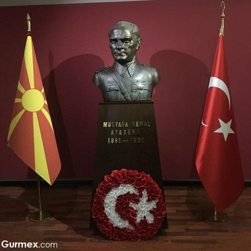 Bitola Atatürk'ün okuduğu askeri okul, Ohrid'de