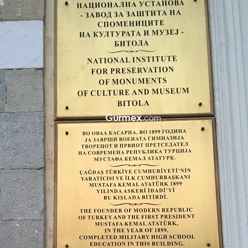 Bitola manastır askeri idadi Ohrid'de Makedonya