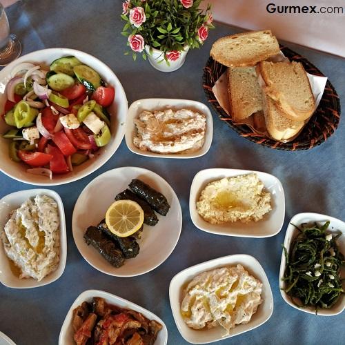 Gökçeada ne yenir içilir Angelikis Taverna