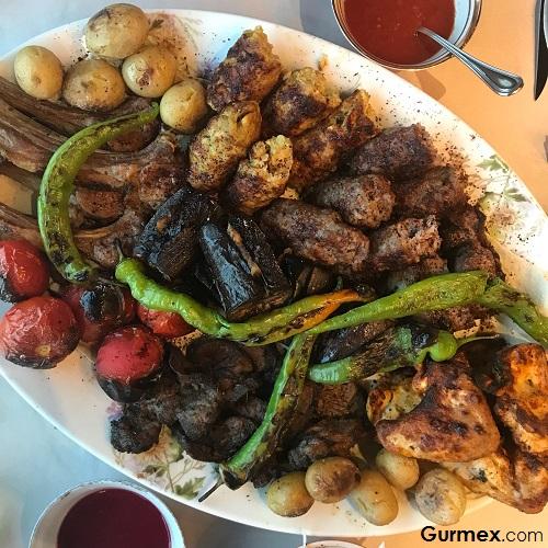Azeri Lüle kebabı Zeferan Restaurant