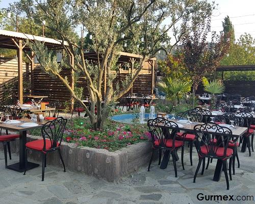 Bursa Dobruca bahçeli restoran