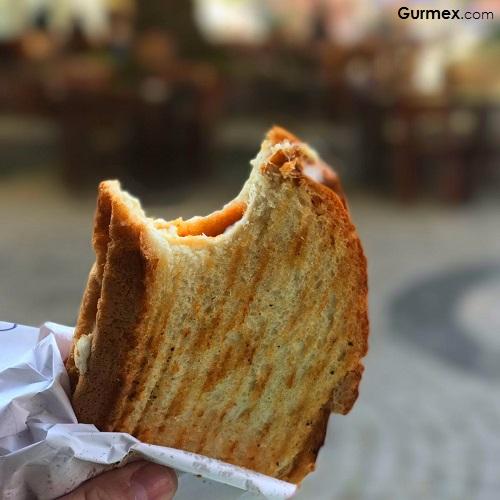 Çınaraltı Cafe Tost Bozcaada'da balık dışında