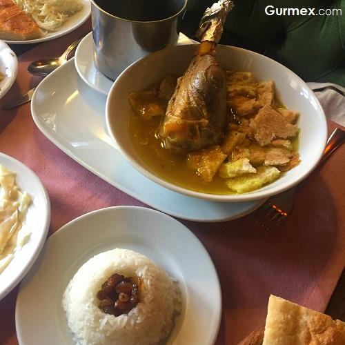 Kars'ta piti yemeği Kars Kaz Evi