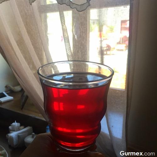 Kars'ta ne içilir reyhan şerbeti Kars Kaz Evi