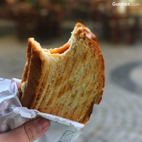 Bozcaada tostu Çınaraltı Cafe