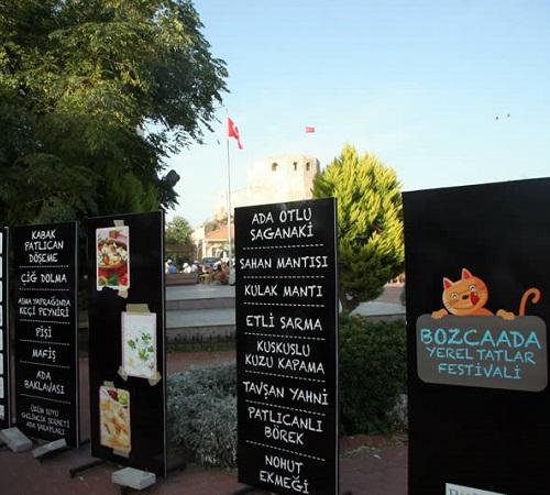 Bozcaada Yerel Tatlar Festivali Yemek Festivalleri