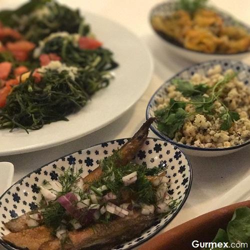 Cunda'da meze nerede yenir Boncuk Restaurant