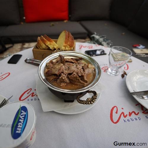 Fethiye'de tandır nerede yenir Cin Bal restaurant Kayaköy