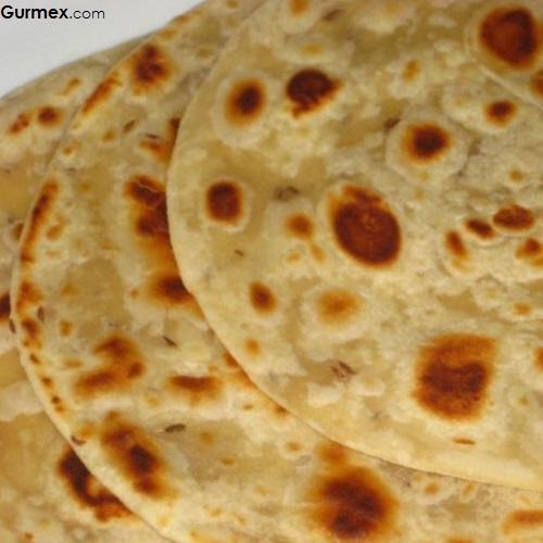Roti ekmek Hint yemekleri