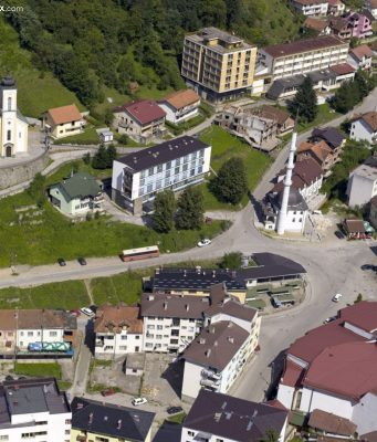 Srebrenitsa Belgrad'dan Bosna'ya