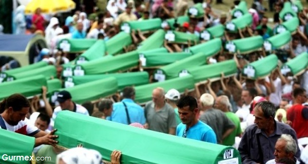 Belgrad'dan Bosna'ya Srebrenitsa cenazeleri