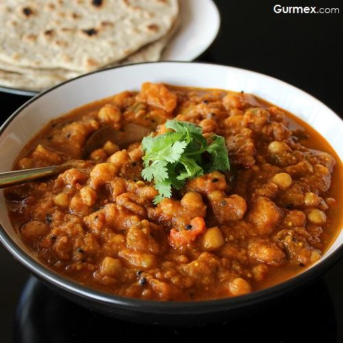 Chana masala Hint yemekleri