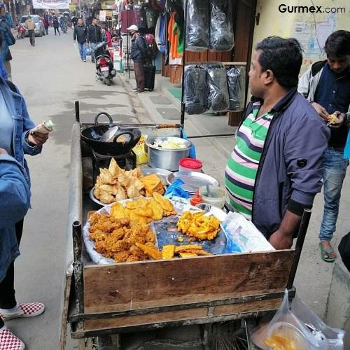 Hindistan yemekleri samosa
