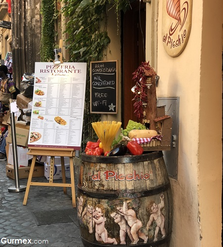 Al Picchio Roma'da nerede ne yenir
