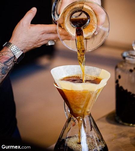 chemex kahve Camekan Coffee Roastery ankara