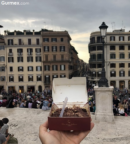 Roma'da nerede ne yenir İspanyol Merdivenleri