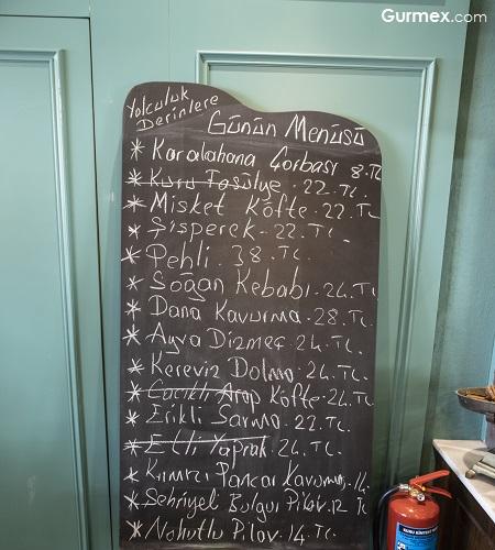 Sade Beş Denizler Mutfağı menü fiyatları