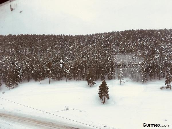 Karlar altındaki şehir Kars