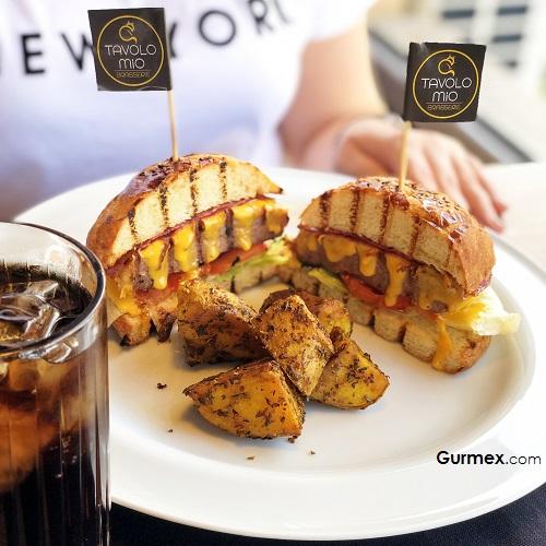 Burger Tavolo Mio Brasserie