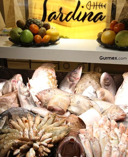 Balık dolabı Sardina restaurant Oran